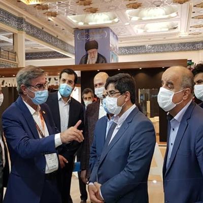 حضور شرکت معدنی و صنعتی چادرملو در نهمین نمایشگاه صنایع معدنی  ( ماینکس )